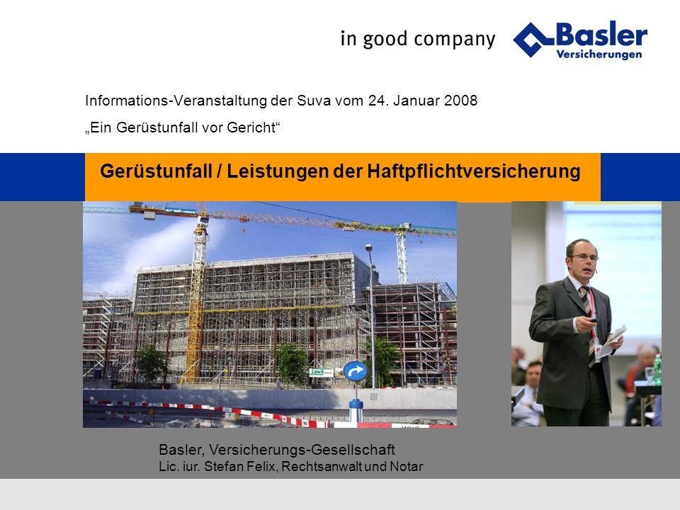 Basler, Versicherungs-Gesellschaft Lic.iur.