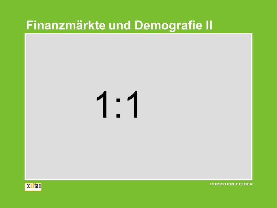 1:1 Finanzmärkte und Demografie II