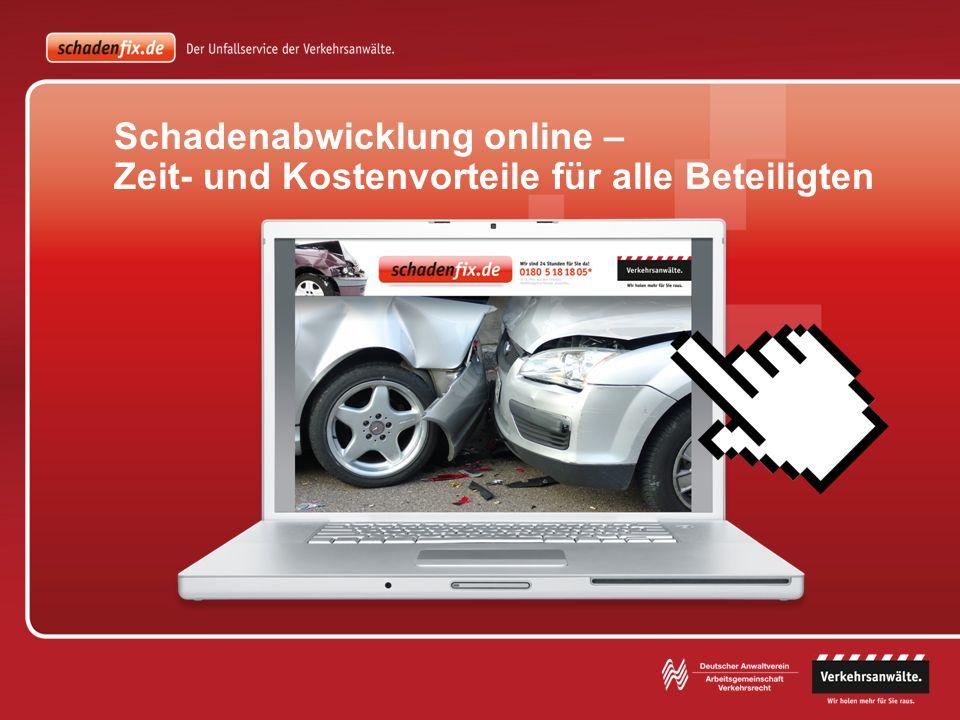 Für die Zusammenarbeit mit einem Anwalt erhalten Sie auf der Homepage Ihrer Firma einen Link zu www.schadenfix.de.