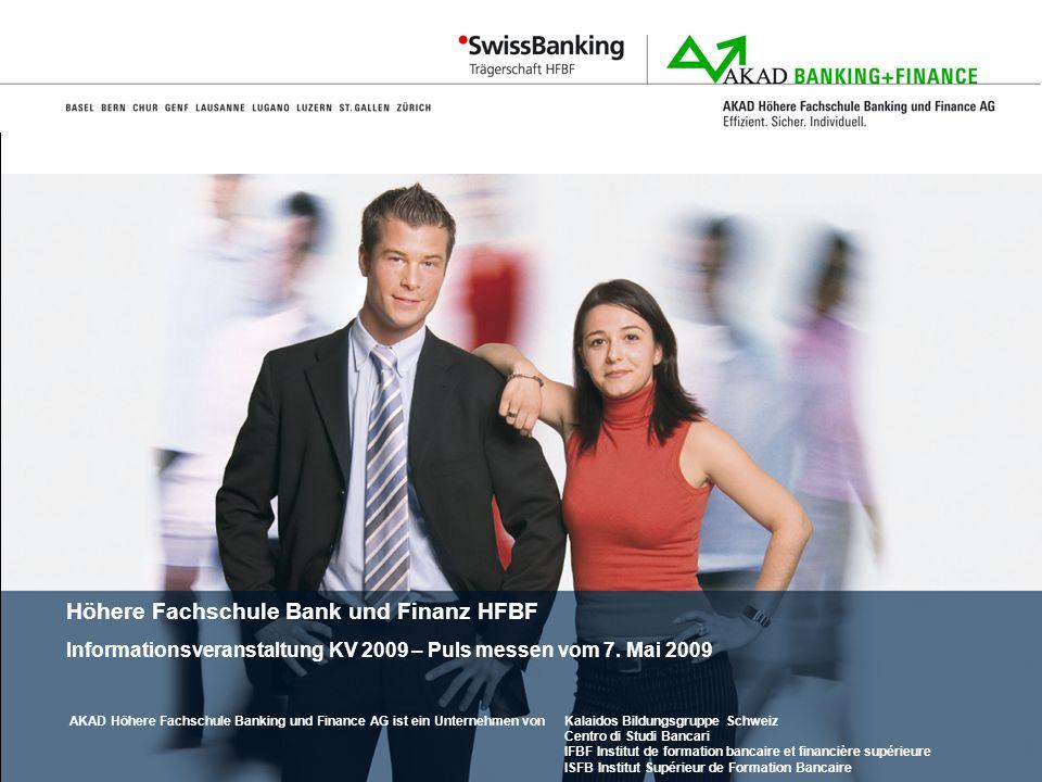 Kalaidos Bildungsgruppe Schweiz Centro di Studi Bancari IFBF Institut de formation bancaire et financière supérieure ISFB Institut Supérieur de Format