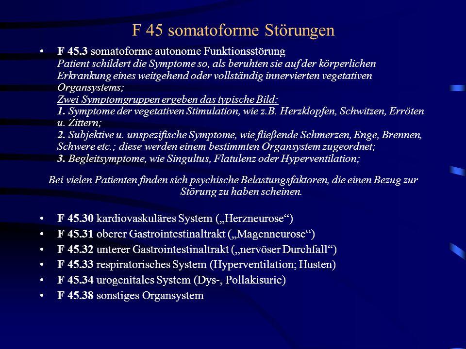 Prinzip der Somatisierung Ich reproduziere Symptome, die Du nicht erklären kannst.