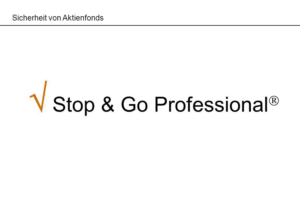 Sicherheit von Aktienfonds Stop & Go Professional