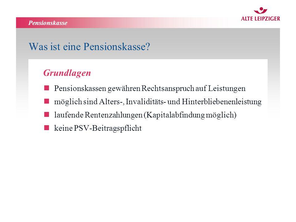 Pensionskasse Was ist eine Pensionskasse.nnachgelagerte Besteuerung nach § 3 Nr.