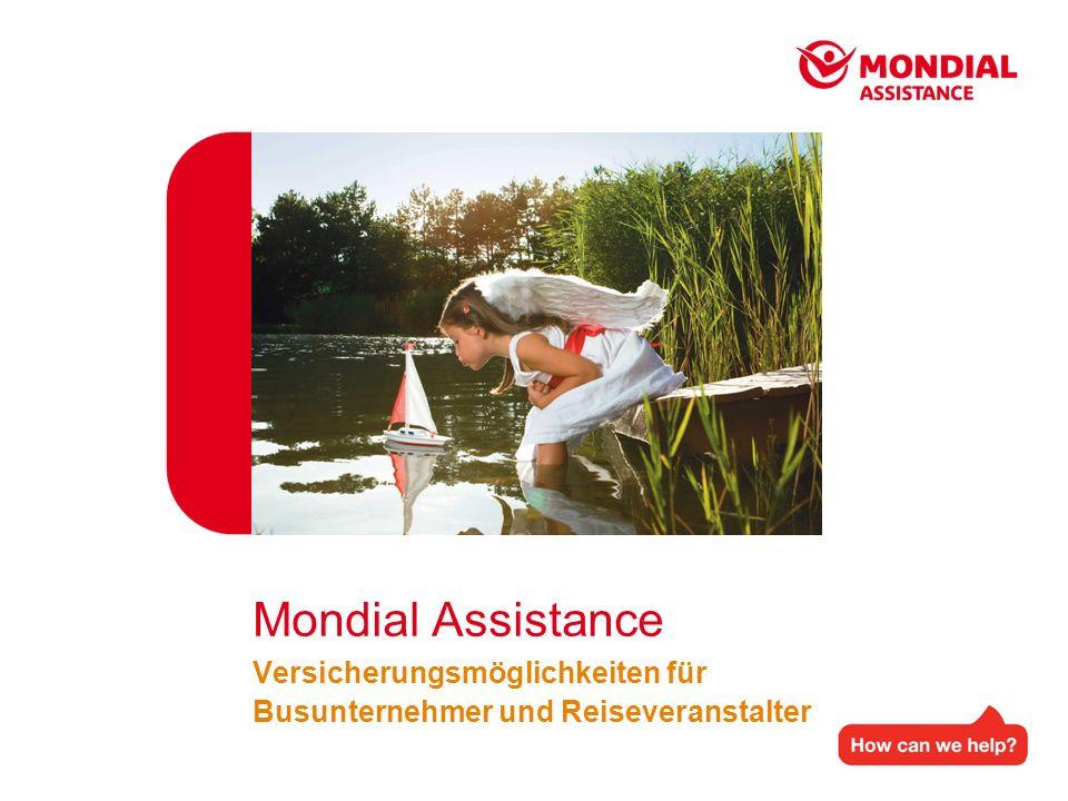 Mondial Assistance Versicherungsmöglichkeiten für Busunternehmer und Reiseveranstalter