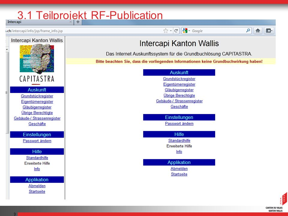 9 3.1 Teilprojekt RF-Publication