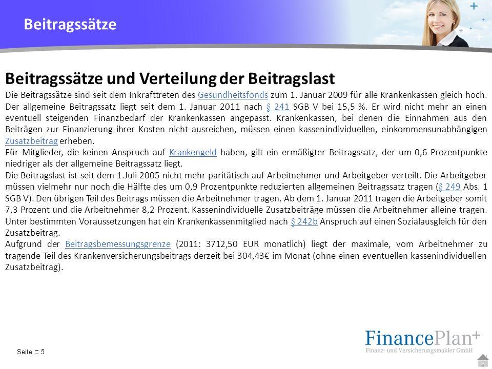 YOUR LOGO Beitragssätze und Verteilung der Beitragslast Die Beitragssätze sind seit dem Inkrafttreten des Gesundheitsfonds zum 1. Januar 2009 für alle