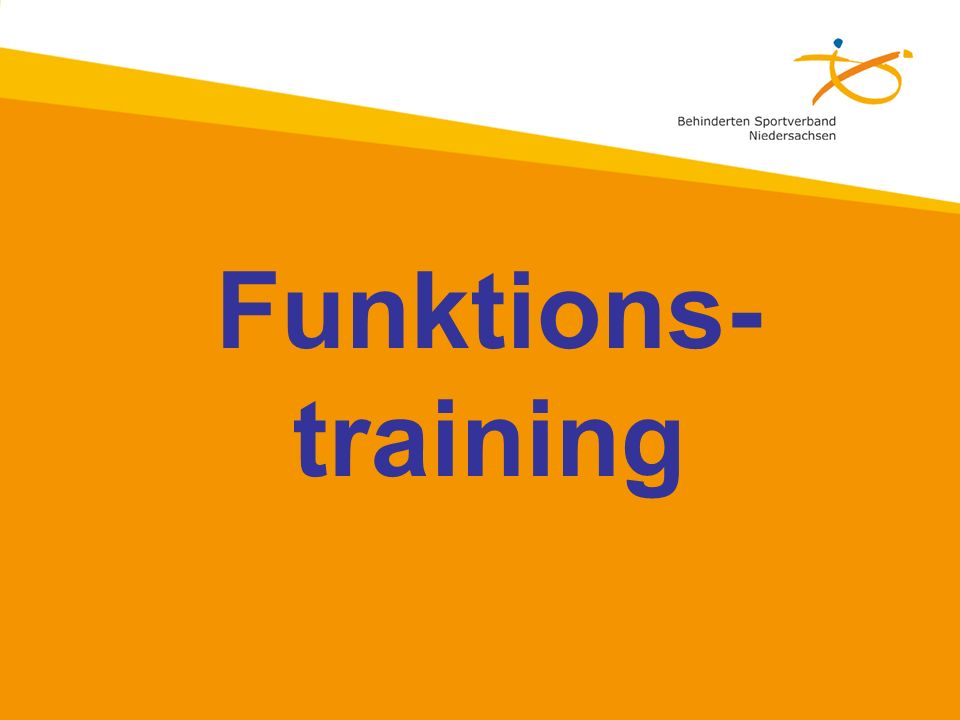 Funktions- training