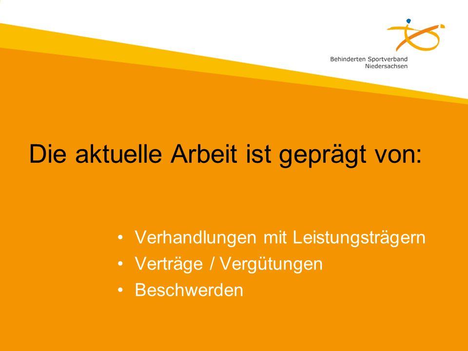 Niedersächsische Konsequenz der Verhandlungen zur Rahmenvereinbarung: Landesvereinbarung zum Funktionstraining ist zum 31.12.2009 gekündigt worden.