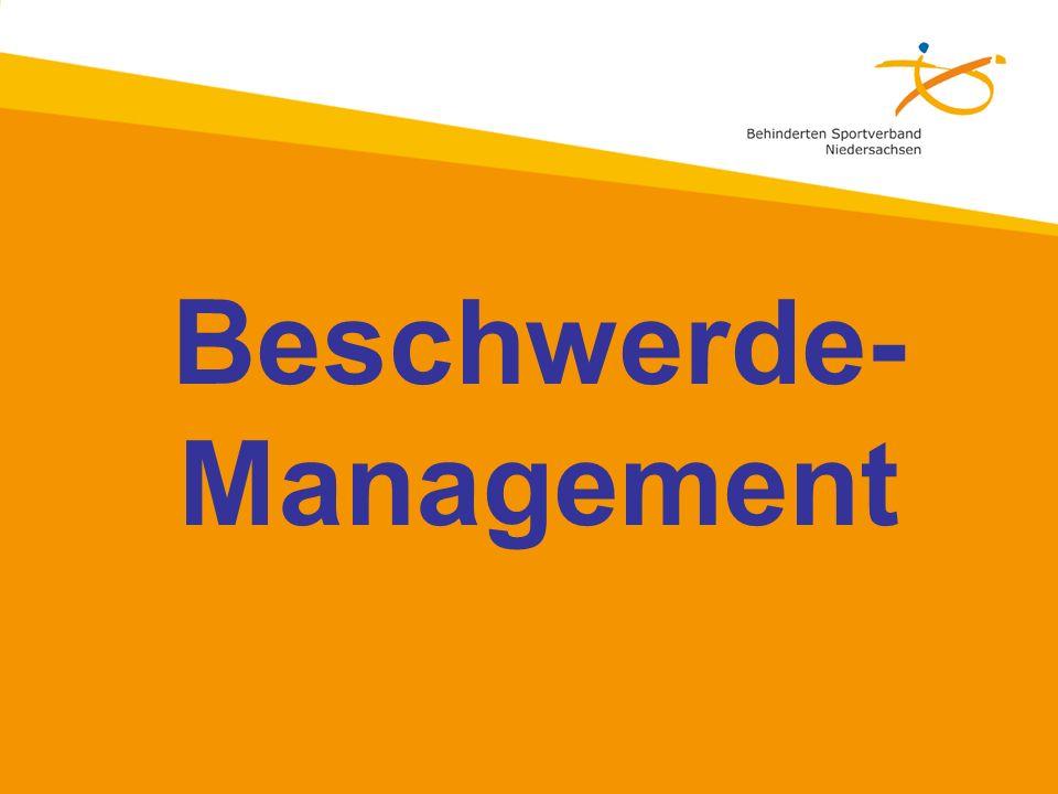 Beschwerde- Management