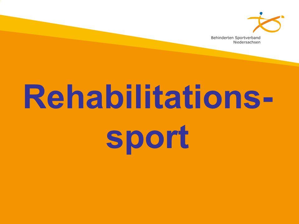 Rehabilitations- sport