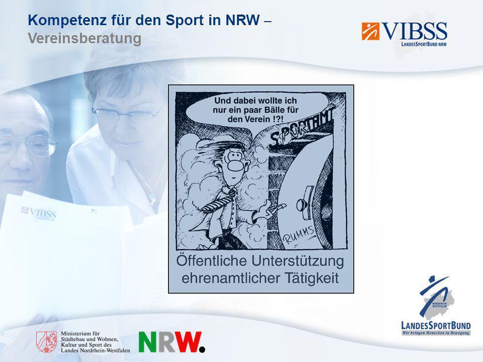 Kompetenz für den Sport in NRW – Vereinsberatung