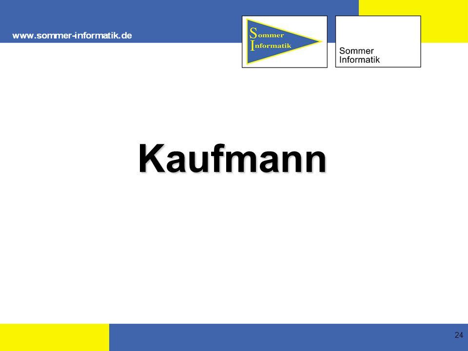 24 Kaufmann