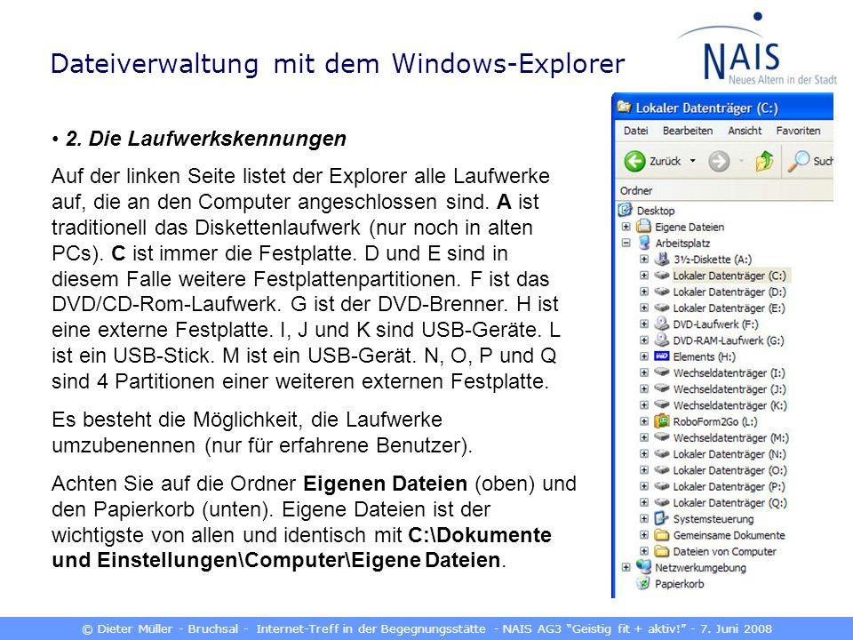 © Dieter Müller - Bruchsal - Internet-Treff in der Begegnungsstätte - NAIS AG3 Geistig fit + aktiv.