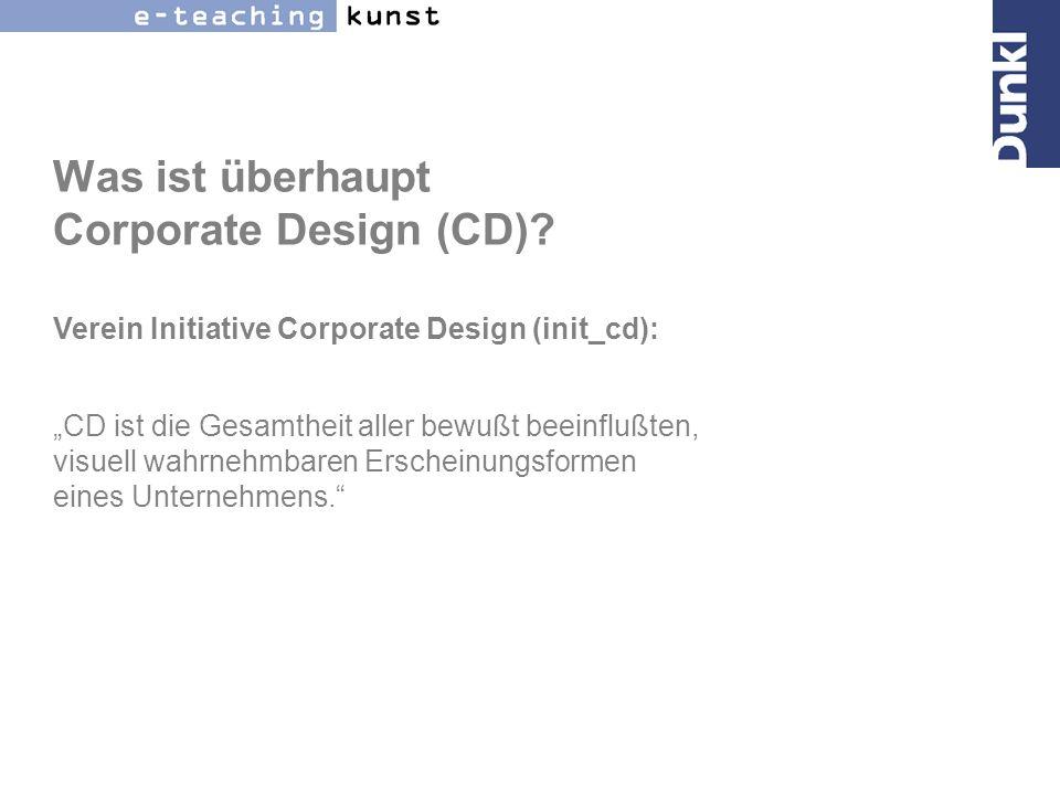 ...und was ist Corporate Identity (CI).