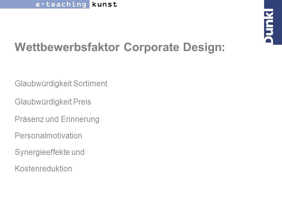 Wertfaktor Corporate Design: Marke Börsengang Franchiseleistung Krisensicherheit