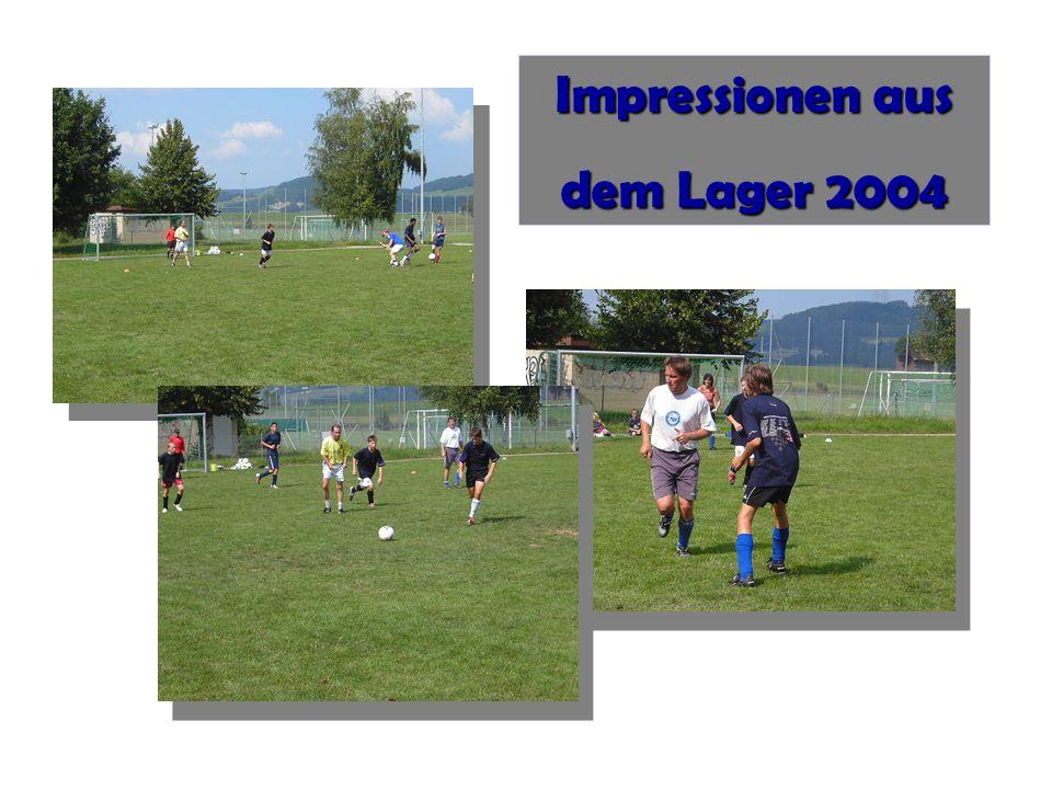 Impressionen aus dem Lager 2004 Impressionen aus dem Lager 2004