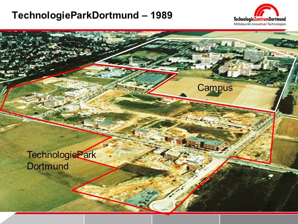 TechnologieParkDortmund – 1989 TechnologiePar k Dortmund Campus TechnologiePark Dortmund Campus