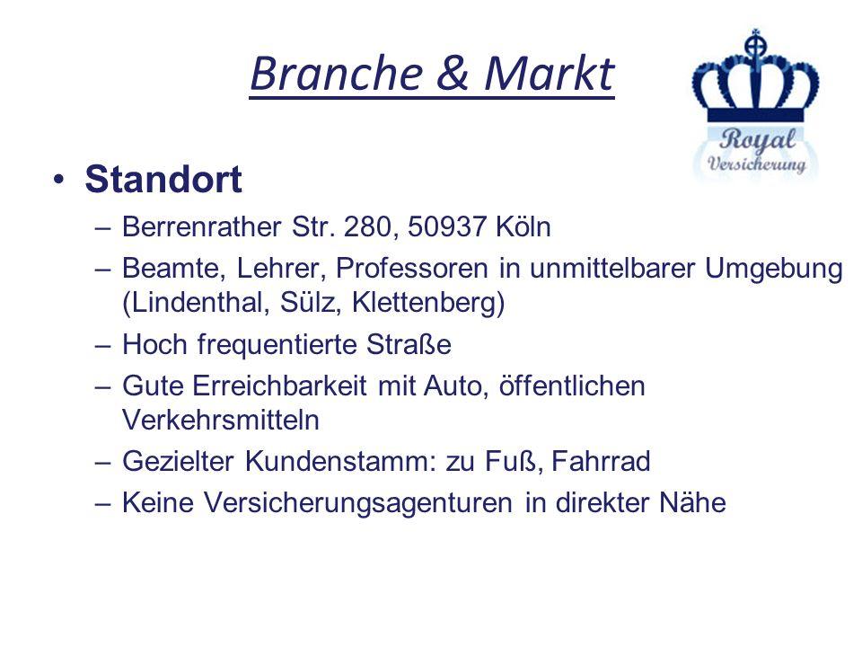 Branche & Markt Standort –Berrenrather Str. 280, 50937 Köln –Beamte, Lehrer, Professoren in unmittelbarer Umgebung (Lindenthal, Sülz, Klettenberg) –Ho