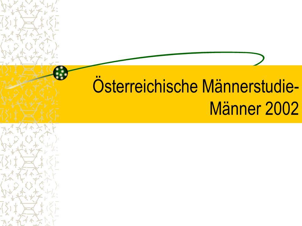Österreichische Männerstudie- Männer 2002