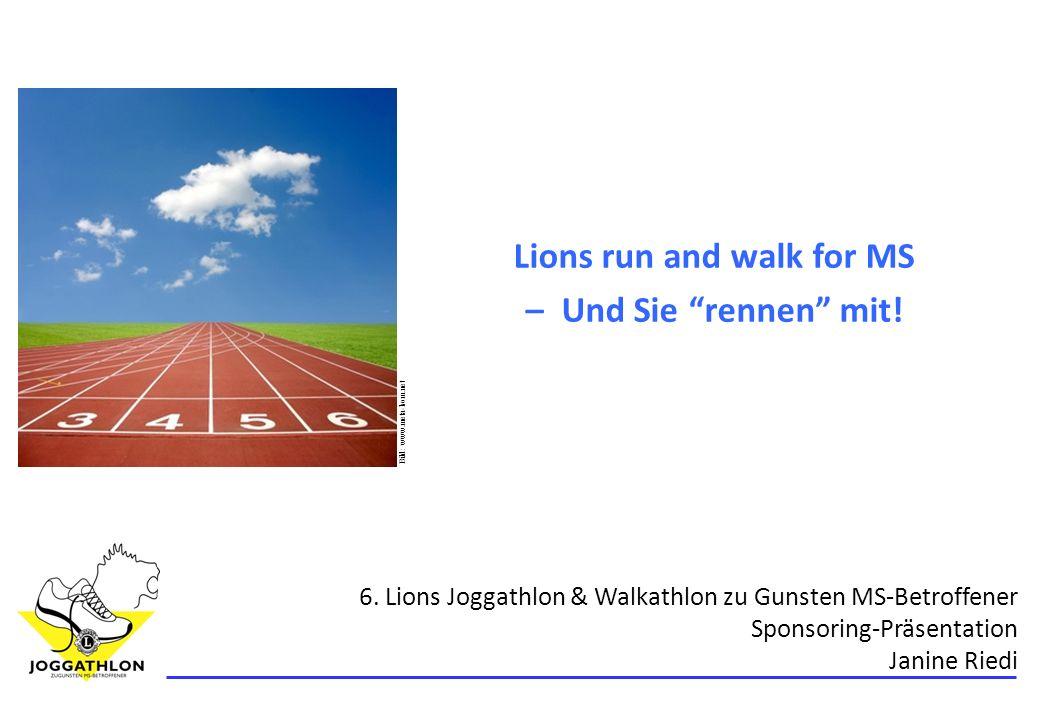 12 6. Lions Joggathlon und Walkathlon Q&A – noch Fragen?