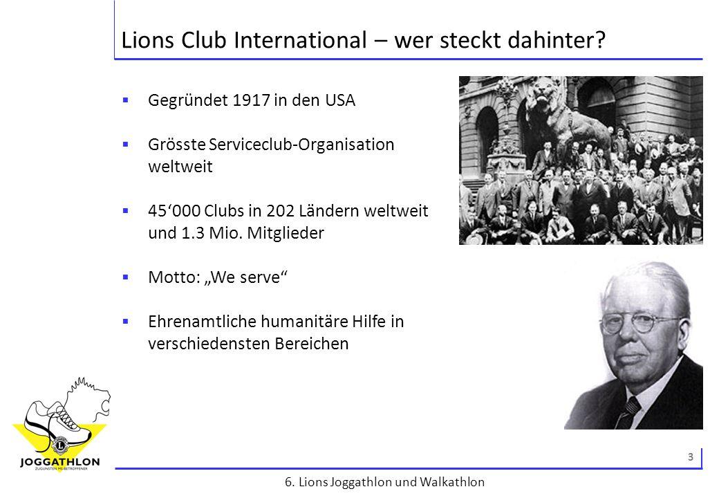 4 6.Lions Joggathlon und Walkathlon 6. Lions Joggathlon & Walkathlon – Key facts.