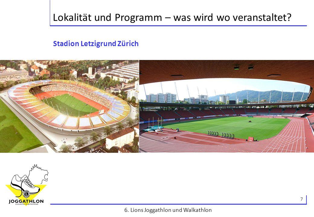 8 6.Lions Joggathlon und Walkathlon Finanzen – was kostet der Spass.
