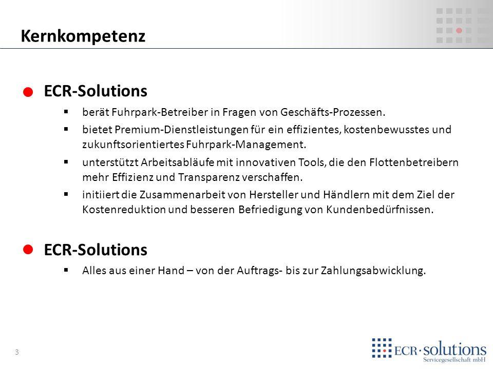 ECR-Solutions berät Fuhrpark-Betreiber in Fragen von Geschäfts-Prozessen. bietet Premium-Dienstleistungen für ein effizientes, kostenbewusstes und zuk