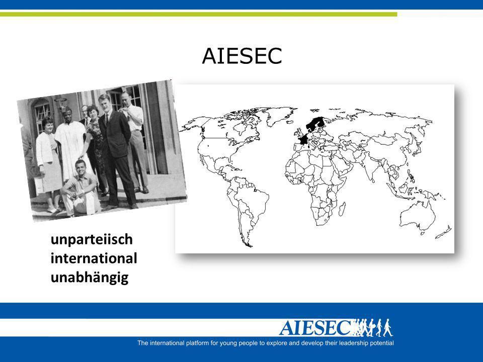AIESEC unparteiisch international unabhängig
