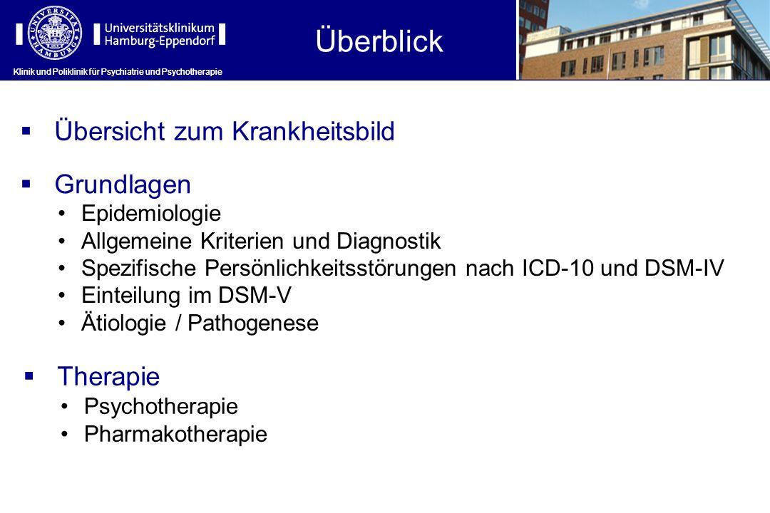 Klinik und Poliklinik für Psychiatrie und Psychotherapie Grundlagen: Einteilung im DSM-V Klinik und Poliklinik für Psychiatrie und Psychotherapie