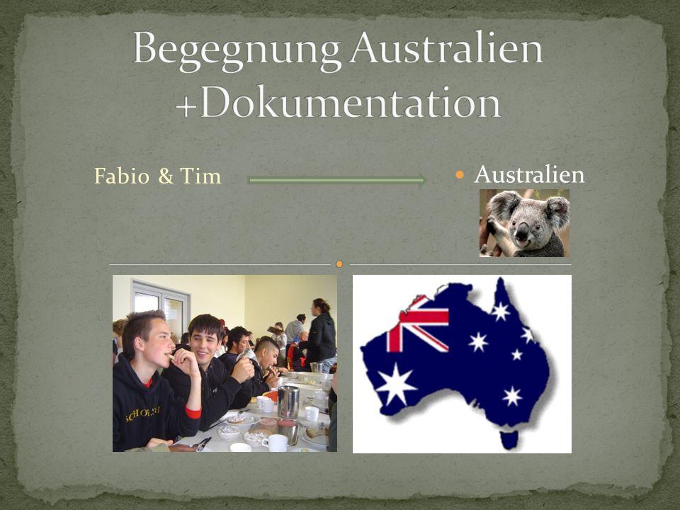 Fabio & Tim Australien
