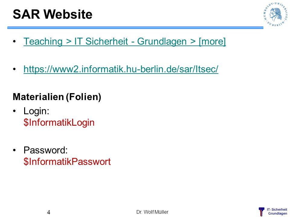 IT-Sicherheit Grundlagen BSI-Bürgerumfrage zur Internetsicherheit Internetnutzer in Deutschland schützen sich unzureichend vor bekannten Risiken https://www.bsi.bund.de/ContentBSI/Presse/Pressemitteilungen/Presse2011/BSI-Buergerumfrage-Internetsicherheit_11022011.html Dr.