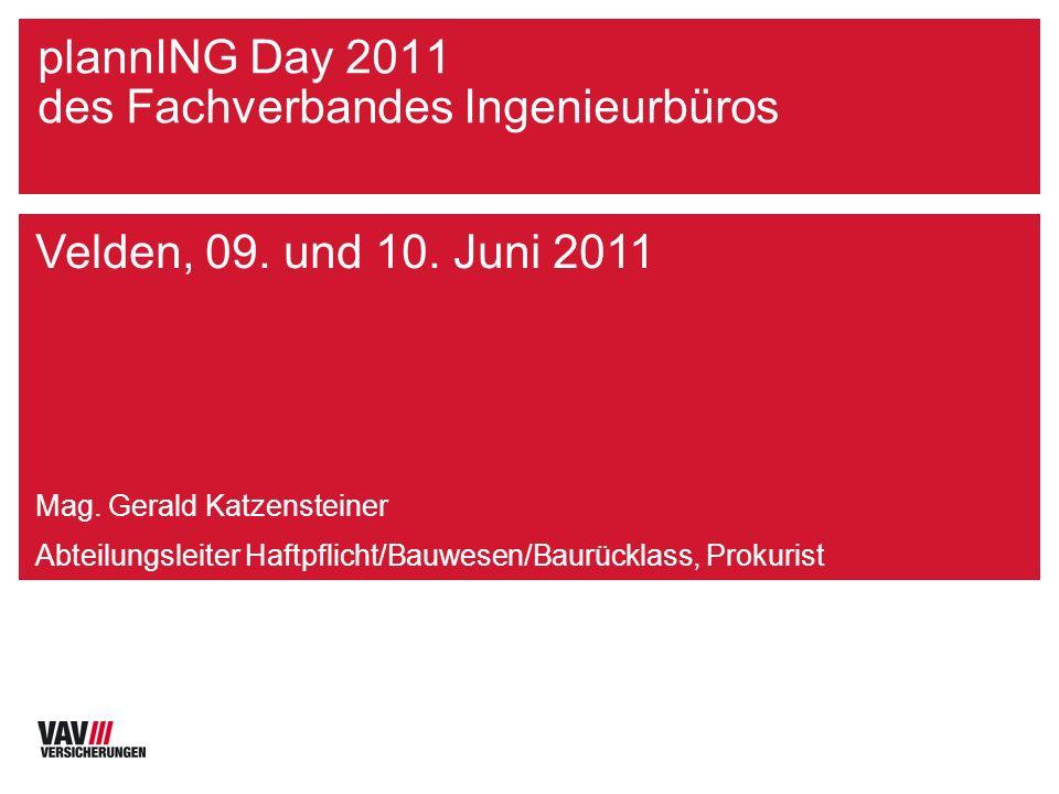 Jörg Roth 03-08 plannING Day 2011 des Fachverbandes Ingenieurbüros Velden, 09.