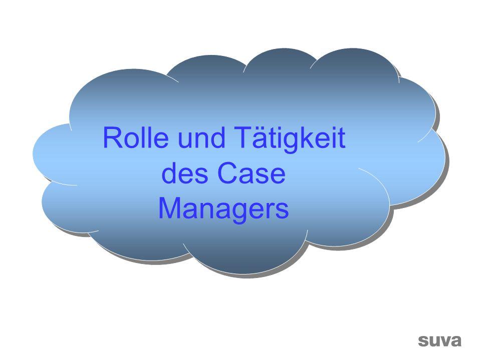Rolle und Tätigkeit des Case Managers