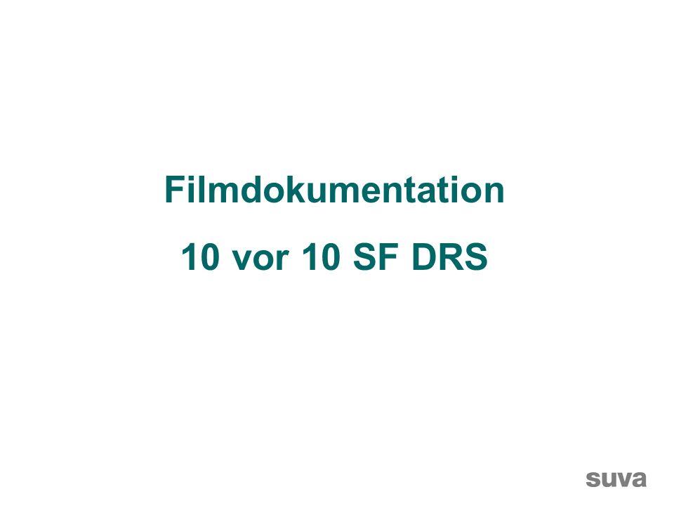 Filmdokumentation 10 vor 10 SF DRS