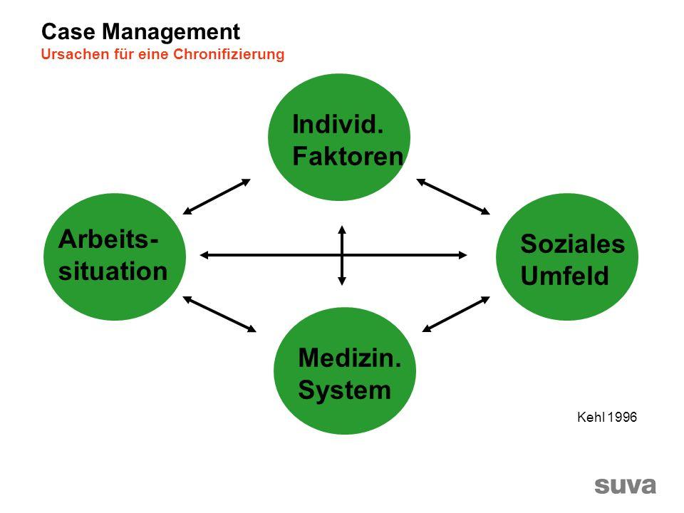 Arbeits- situation Individ.Faktoren Medizin.