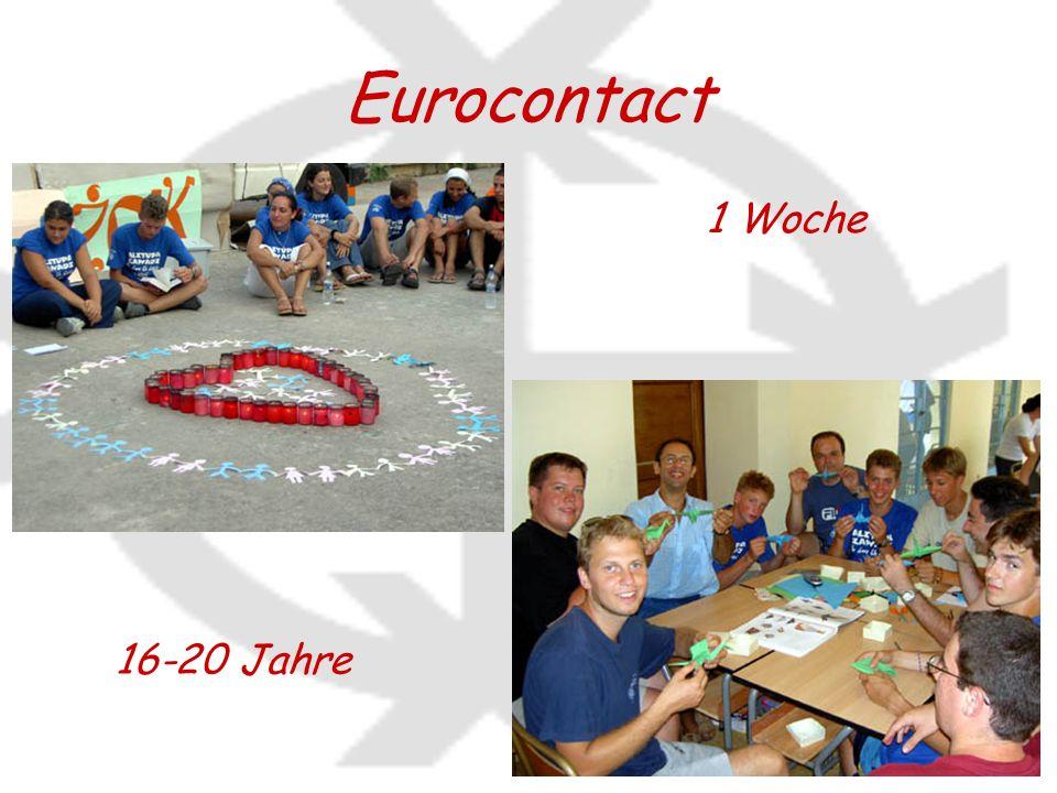 Eurocontact 16-20 Jahre 1 Woche