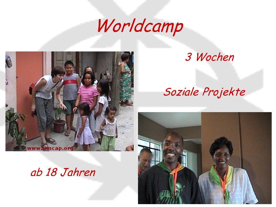 Worldcamp ab 18 Jahren 3 Wochen Soziale Projekte