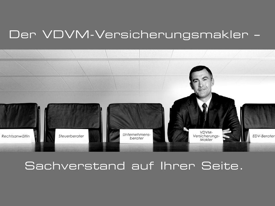 VDVM Versicherungsmakler - Sachverstand an Ihrer Seite.