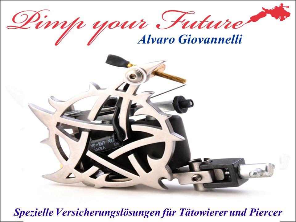 Spezielle Versicherungslösungen für Tätowierer und Piercer Alvaro Giovannelli