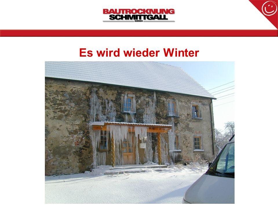 Es wird wieder Winter