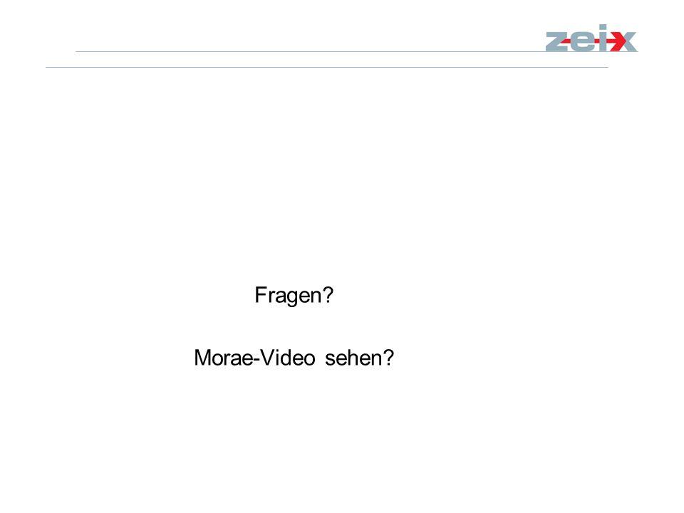 Fragen? Morae-Video sehen?