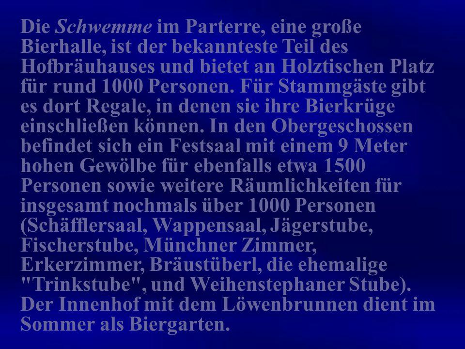 Das Wort Hofbräuhaus wurde für manche Brauereien benutzt, die Hoflieferant eines Herrscherhauses waren.