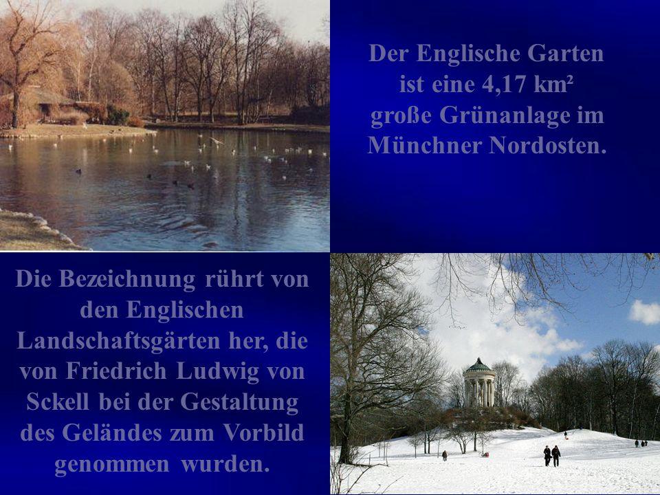 Nirgends erholt sich der Münchener besser und für die Touristen ein muß