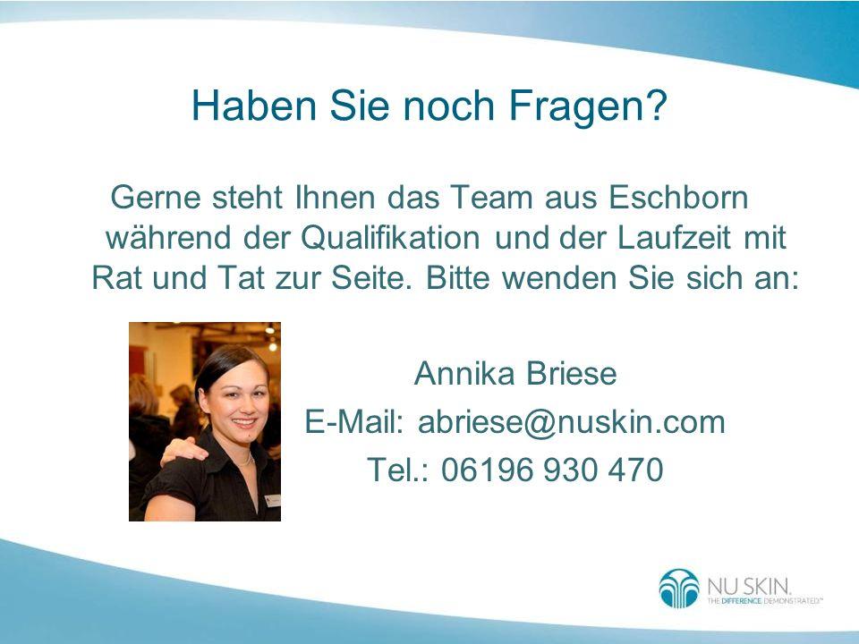 Haben Sie noch Fragen? Gerne steht Ihnen das Team aus Eschborn während der Qualifikation und der Laufzeit mit Rat und Tat zur Seite. Bitte wenden Sie