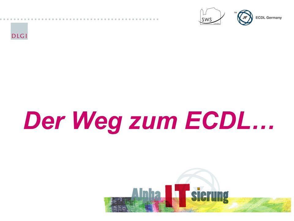 Der Weg zum ECDL…