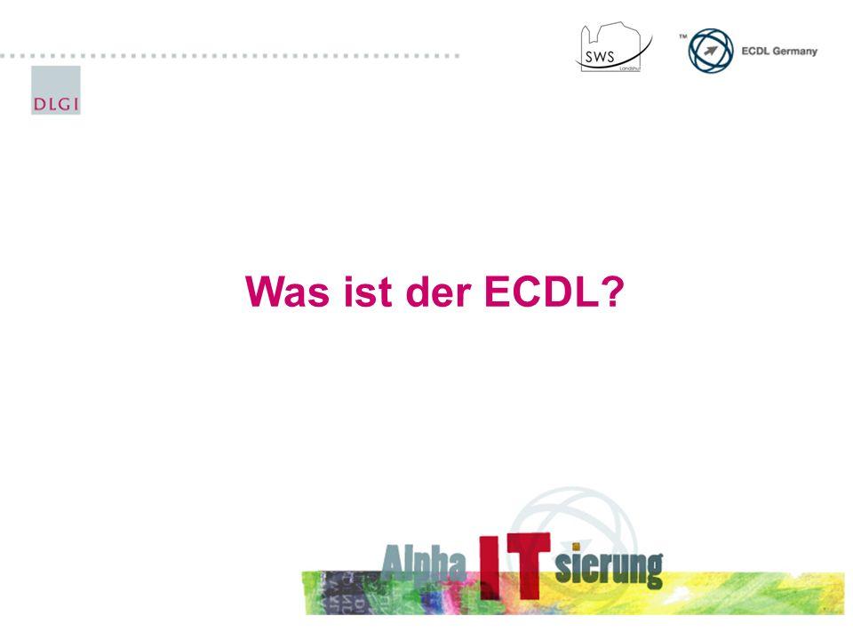 Wege zum ECDL 7 bzw.