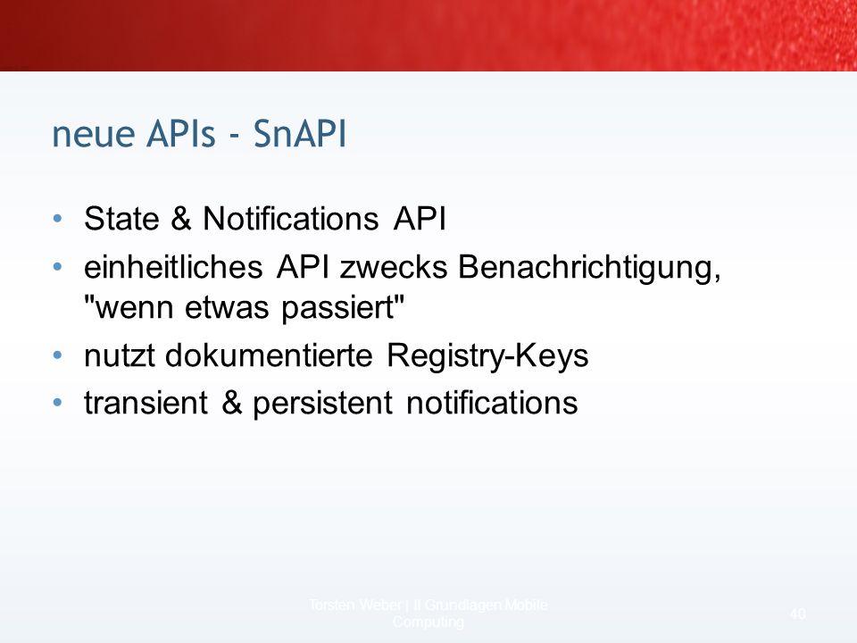 früher kein COM Interop, unter.NET CF 2 aber oder mit Windows Mobile 5 API –geht auch mit.NET CF 1 Beispiel OutlookSession outlook = new OutlookSessio