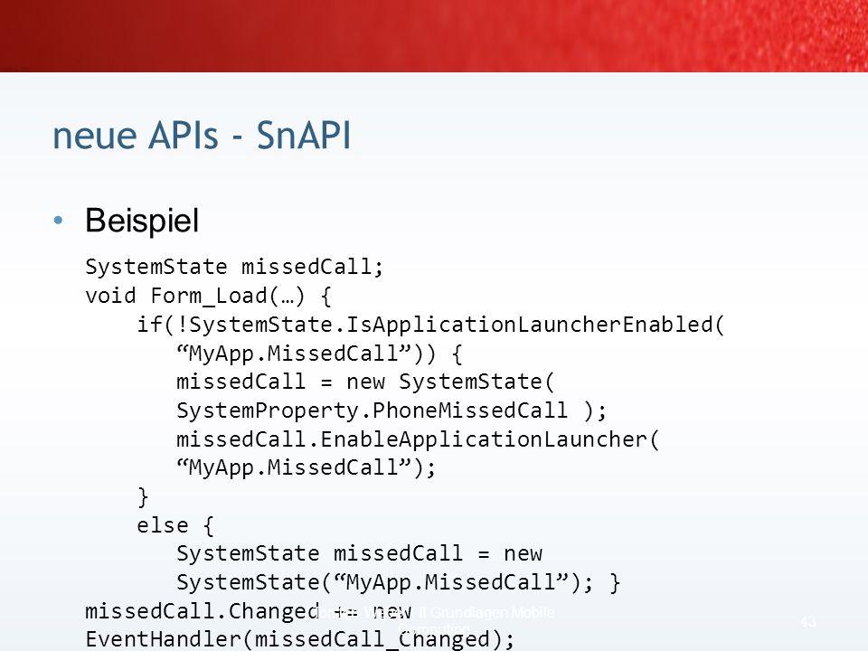 Szenario Dispatching mit SnAPI 41 Torsten Weber | I Was ist Mobile Computing? ISDNISDN