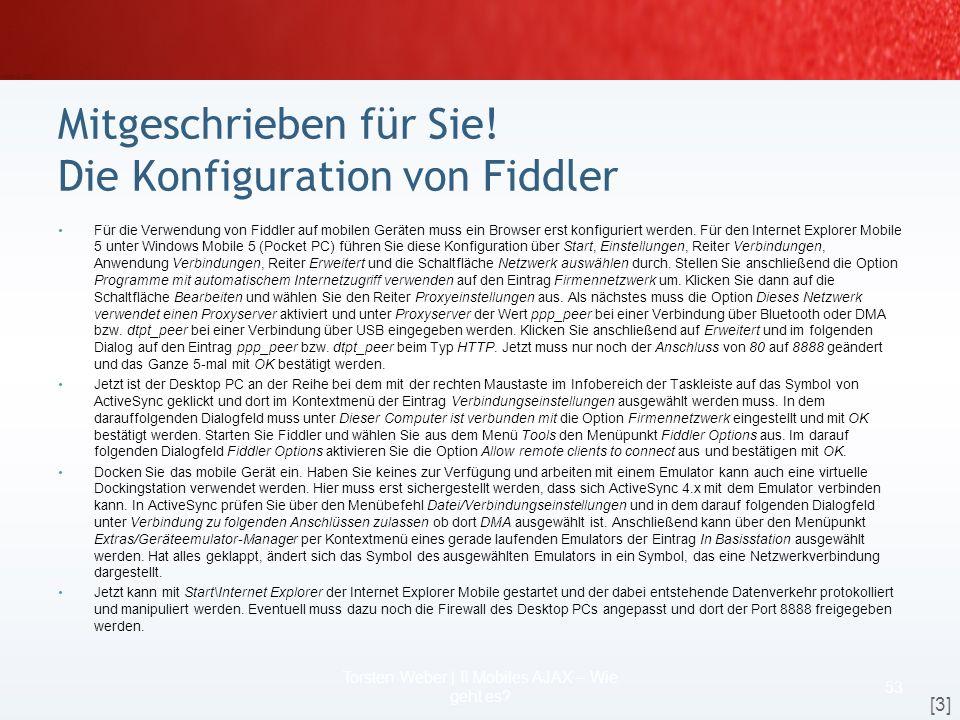 Szenario Webanwendung mit AJAX 51 Torsten Weber | II Mobiles AJAX – Wie geht es? Produkt-ID ? Produkt