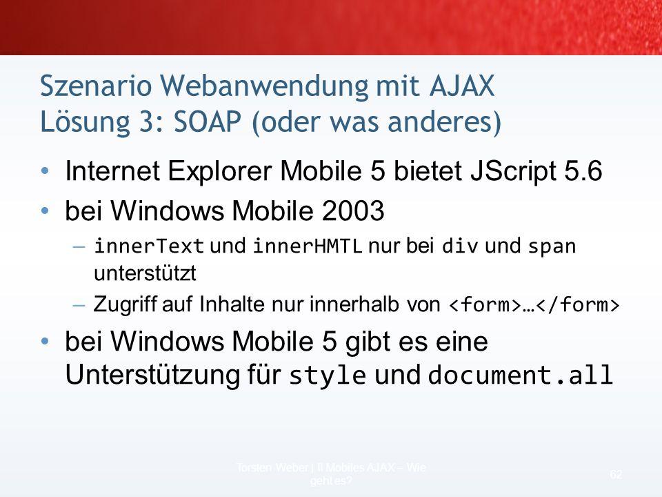 Beispiel laden einer Datei function LoadXmlFile() { if (webRequest) { new ActiveXObject(